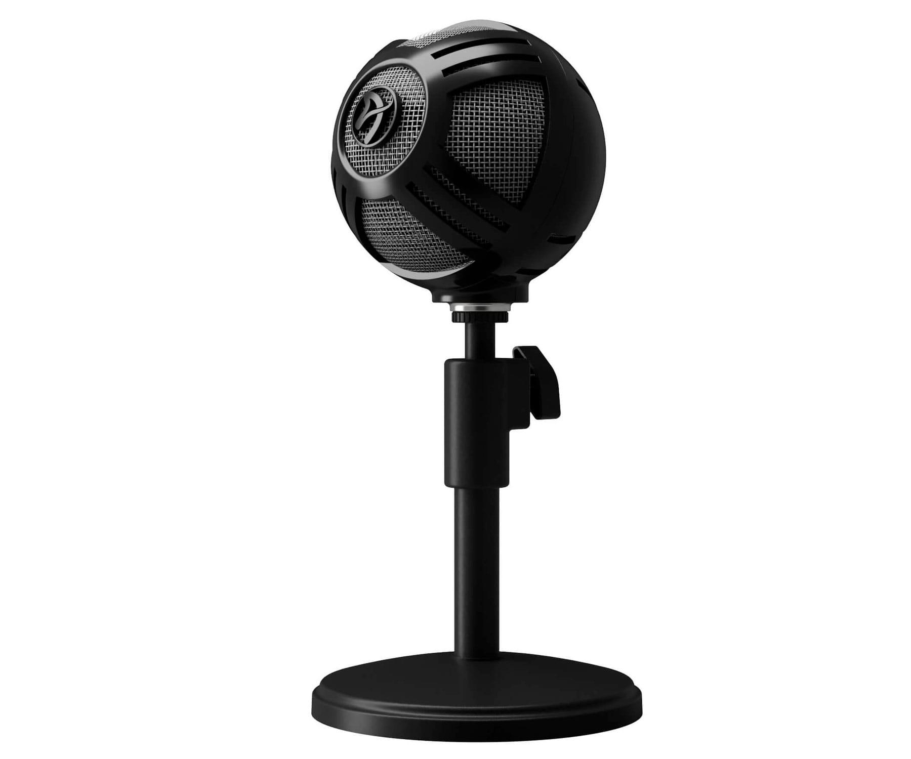Arozzi Sfera Pro Micrófono Gaming Negro/USB/ Plug-and-play/Cardioide/Omnidireccional