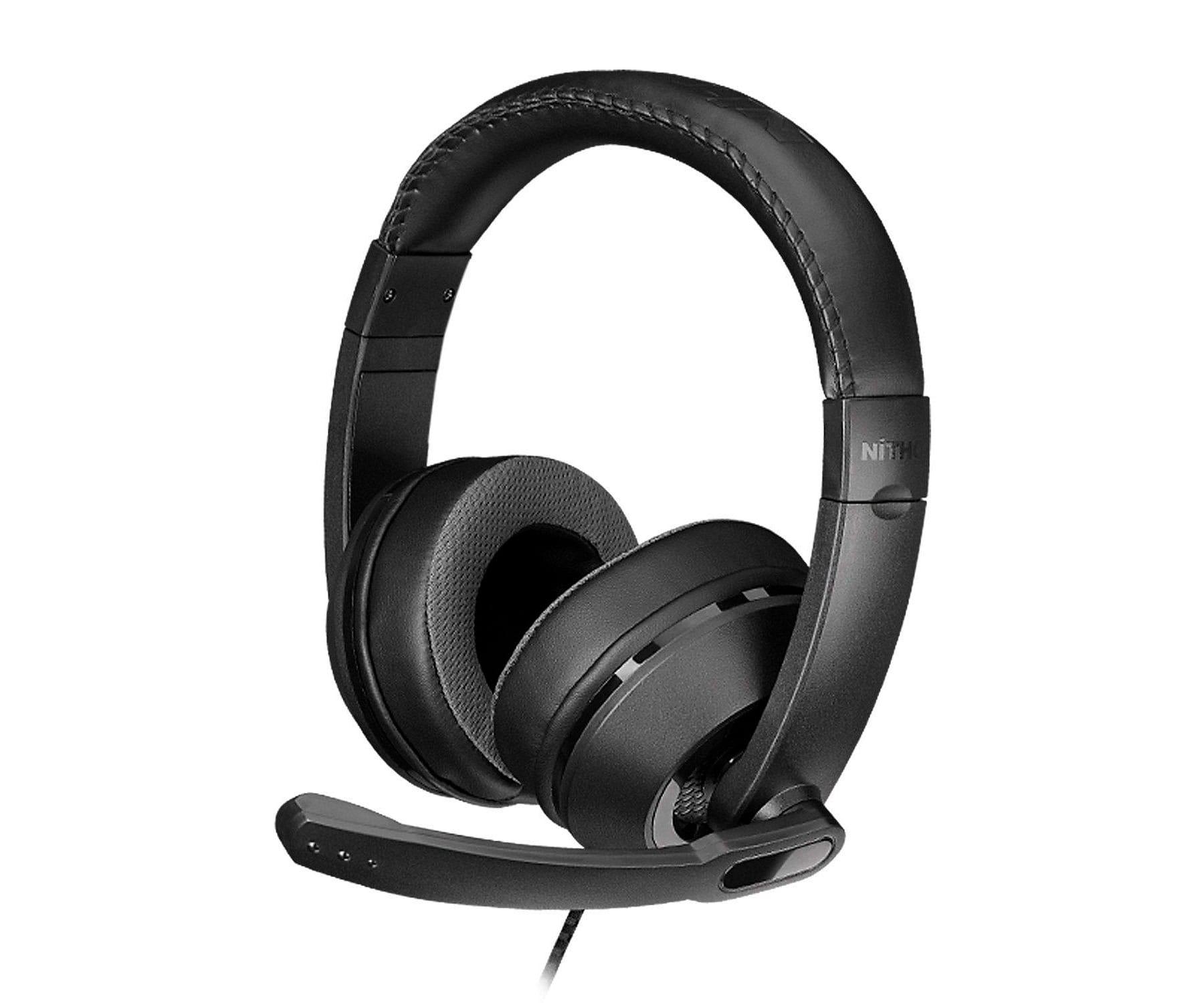 Nitho NX100s Auriculares Negro/Estéreo/Micrófono plegable