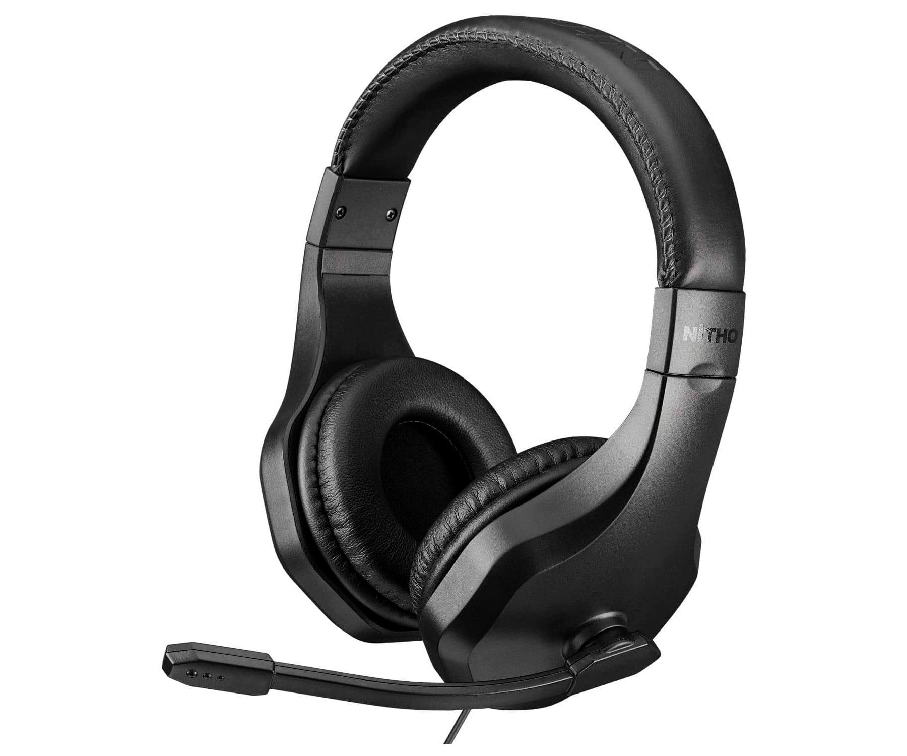 Nitho NX120 Auriculares Negro/Estéreo/Micrófono