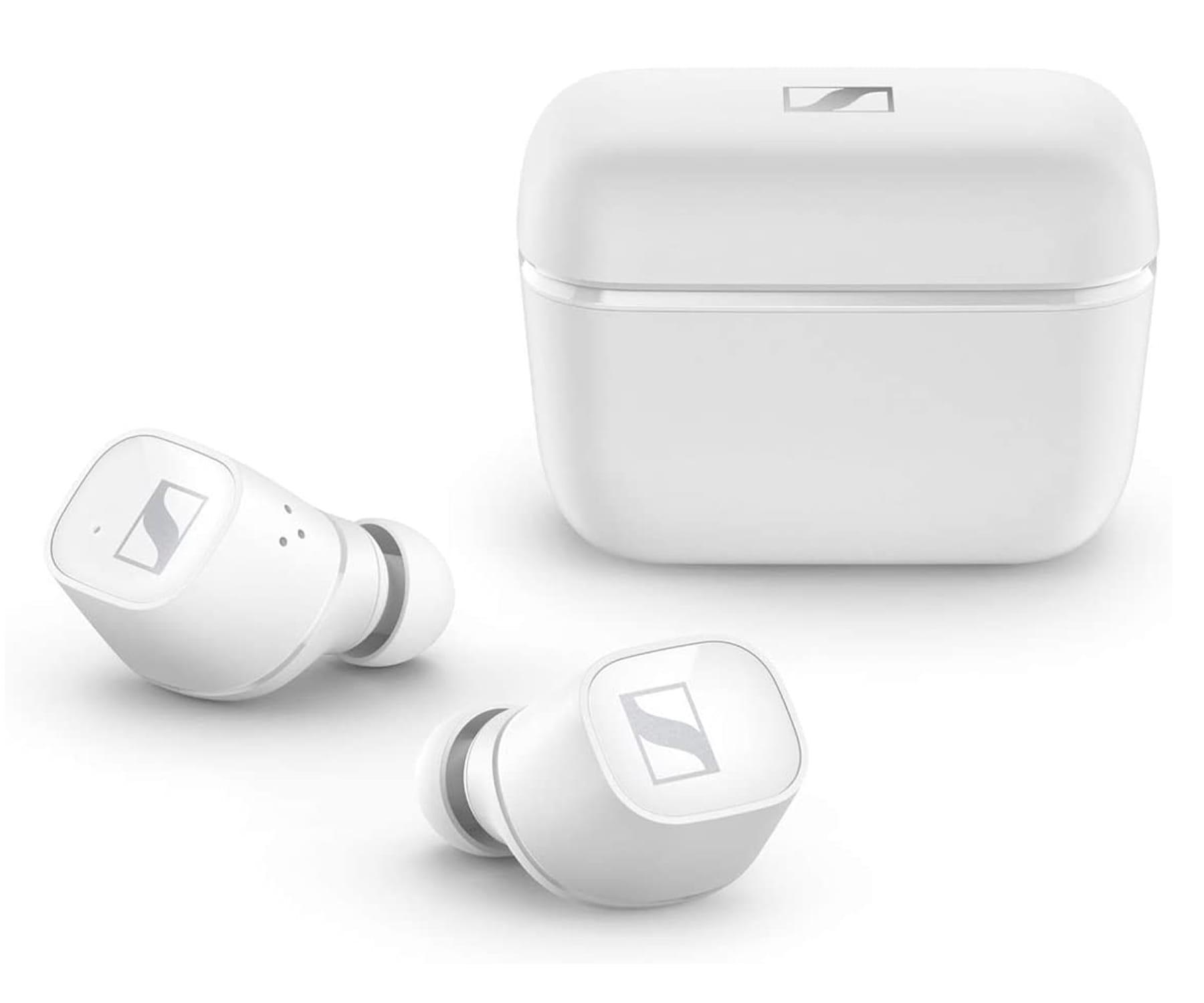 Sennheiser  Auriculares CX400BT True Wireless Blanco/Intraaurales/Bluetooth 5.0