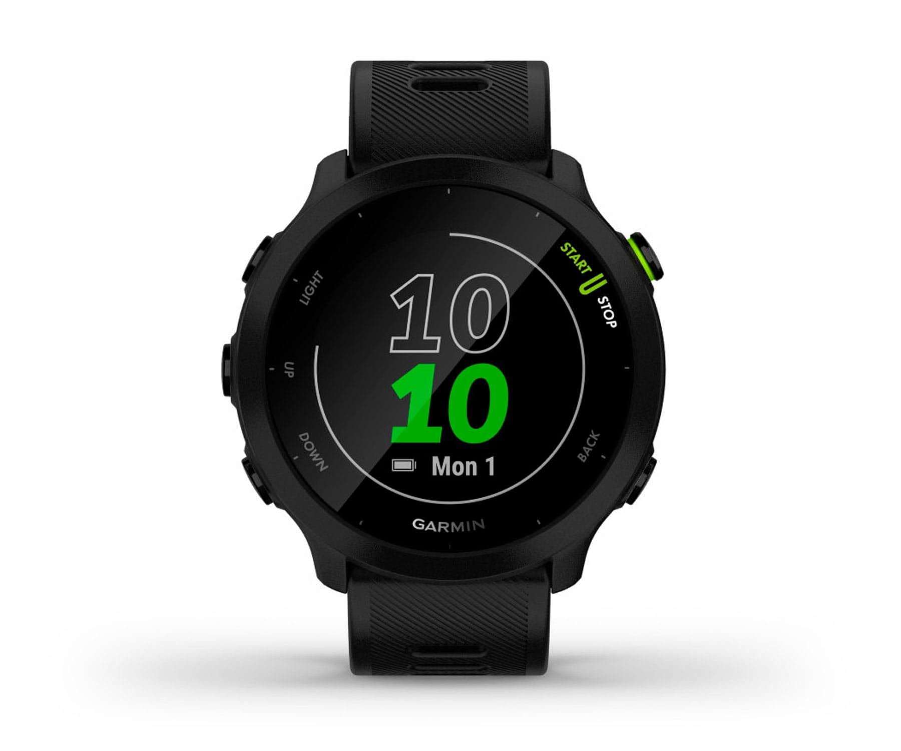 Garmin Forerunner 55 Negro/42mm Reloj inteligente Running/GPS/Monitor de frecuencia cardíaca