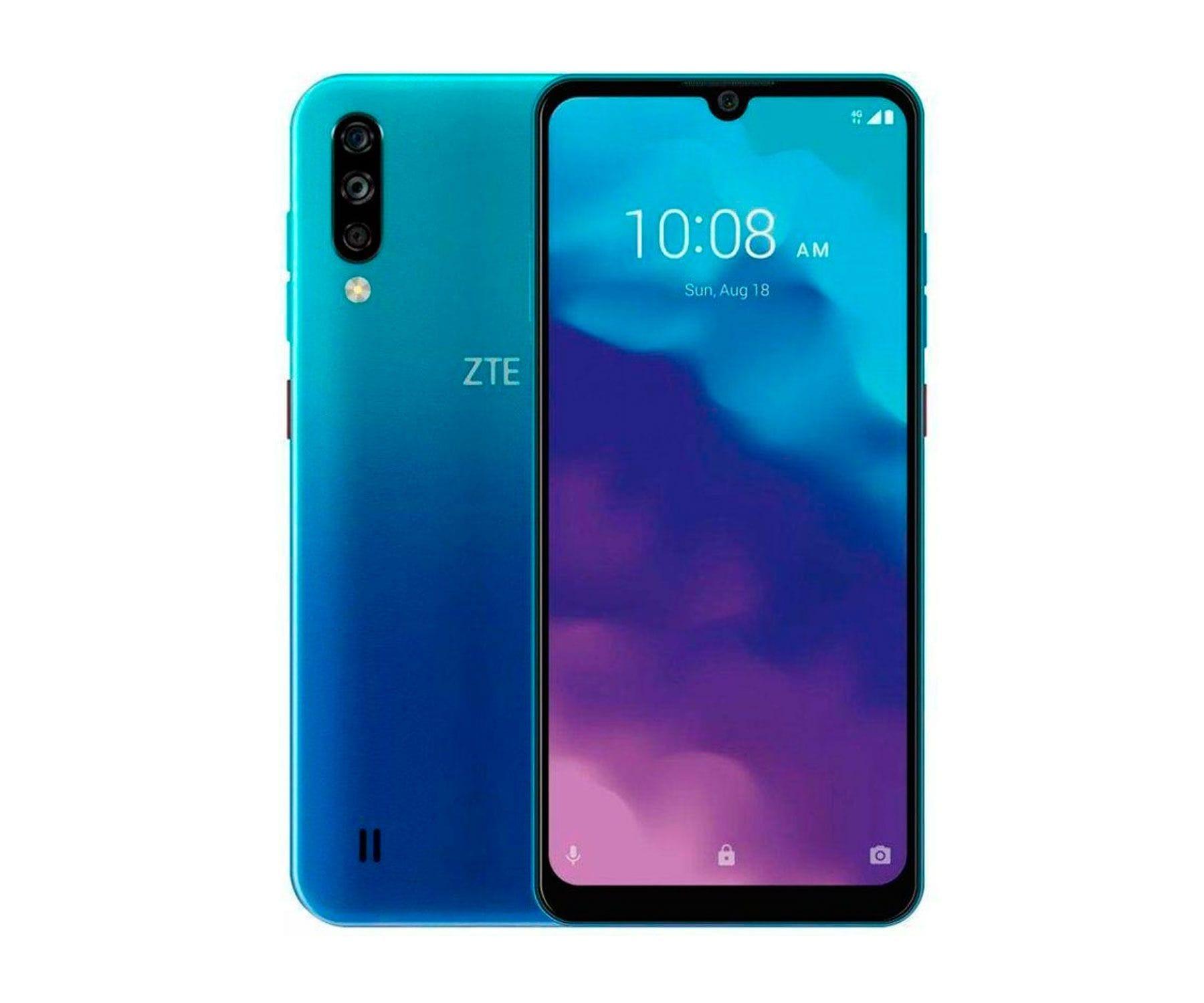 ZTE Blade A7 2020 4G Azul/3+64 GB/6.1'' HD+ /Dual SIM/Triple Cámara
