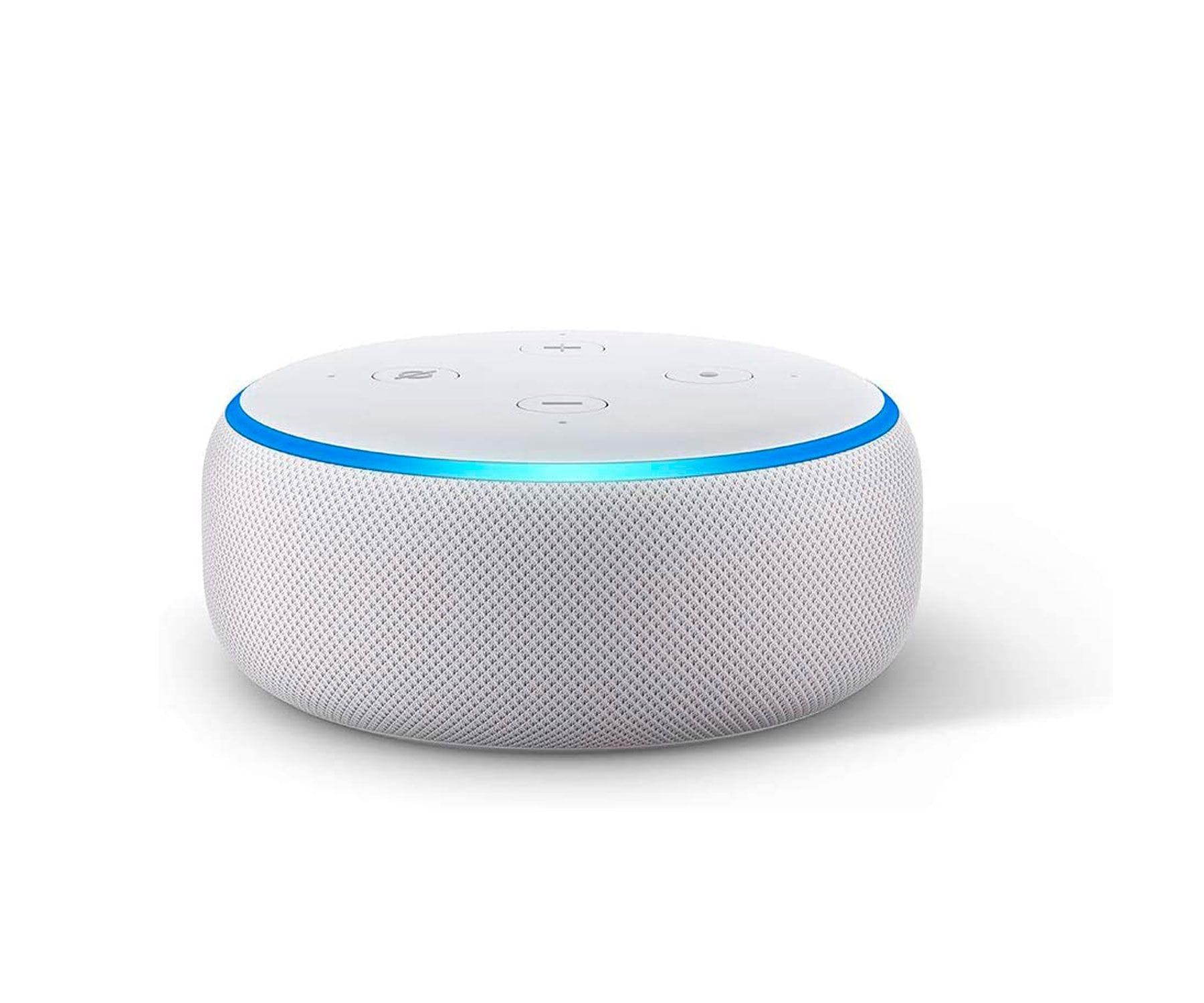 Amazon Altavoz Echo Dot Blanco 3ª generación/Control hogar inteligente/Alexa