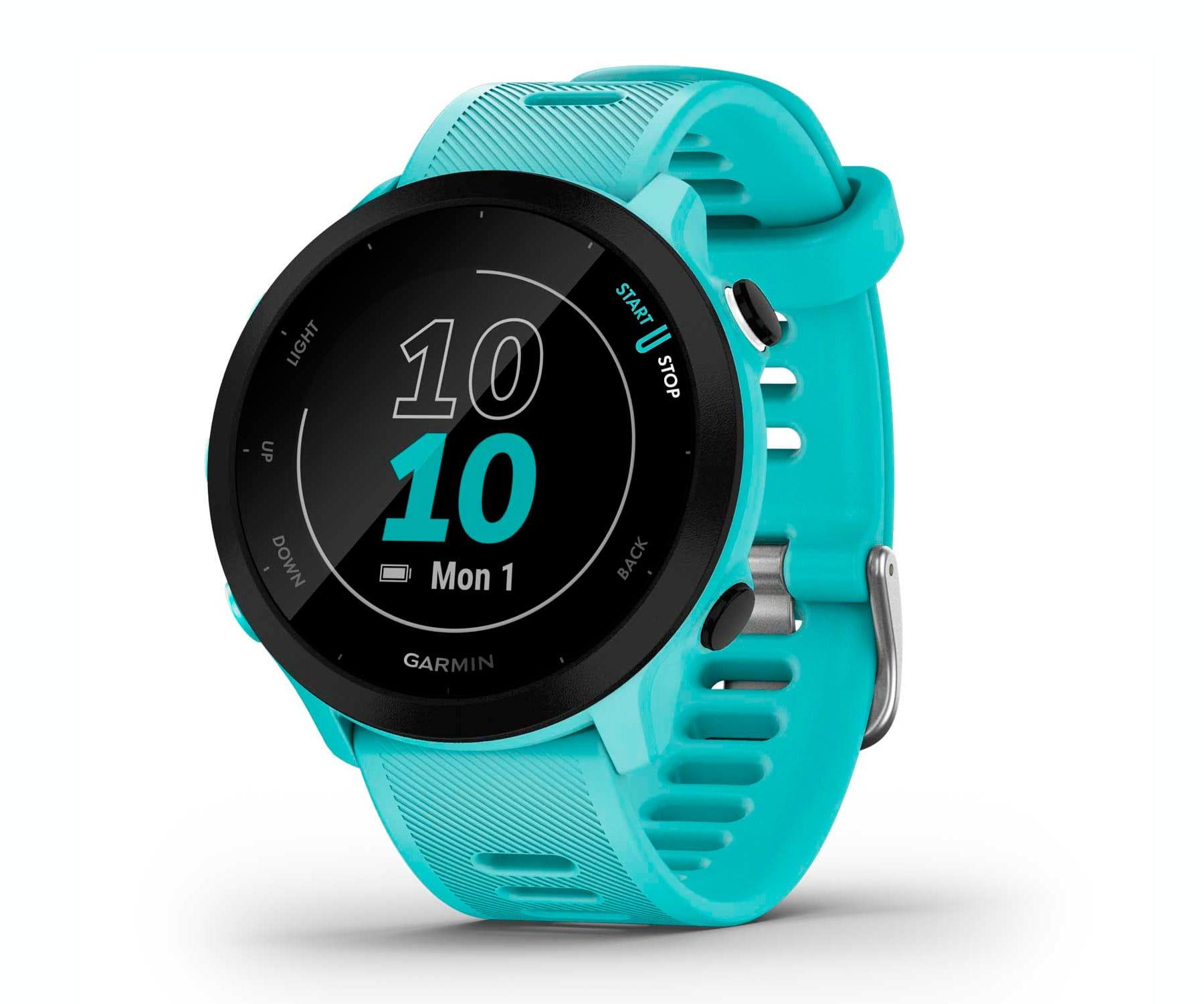 Garmin Forerunner 55 Aqua/42mm Reloj inteligente Running/GPS/Monitor de frecuencia cardíaca