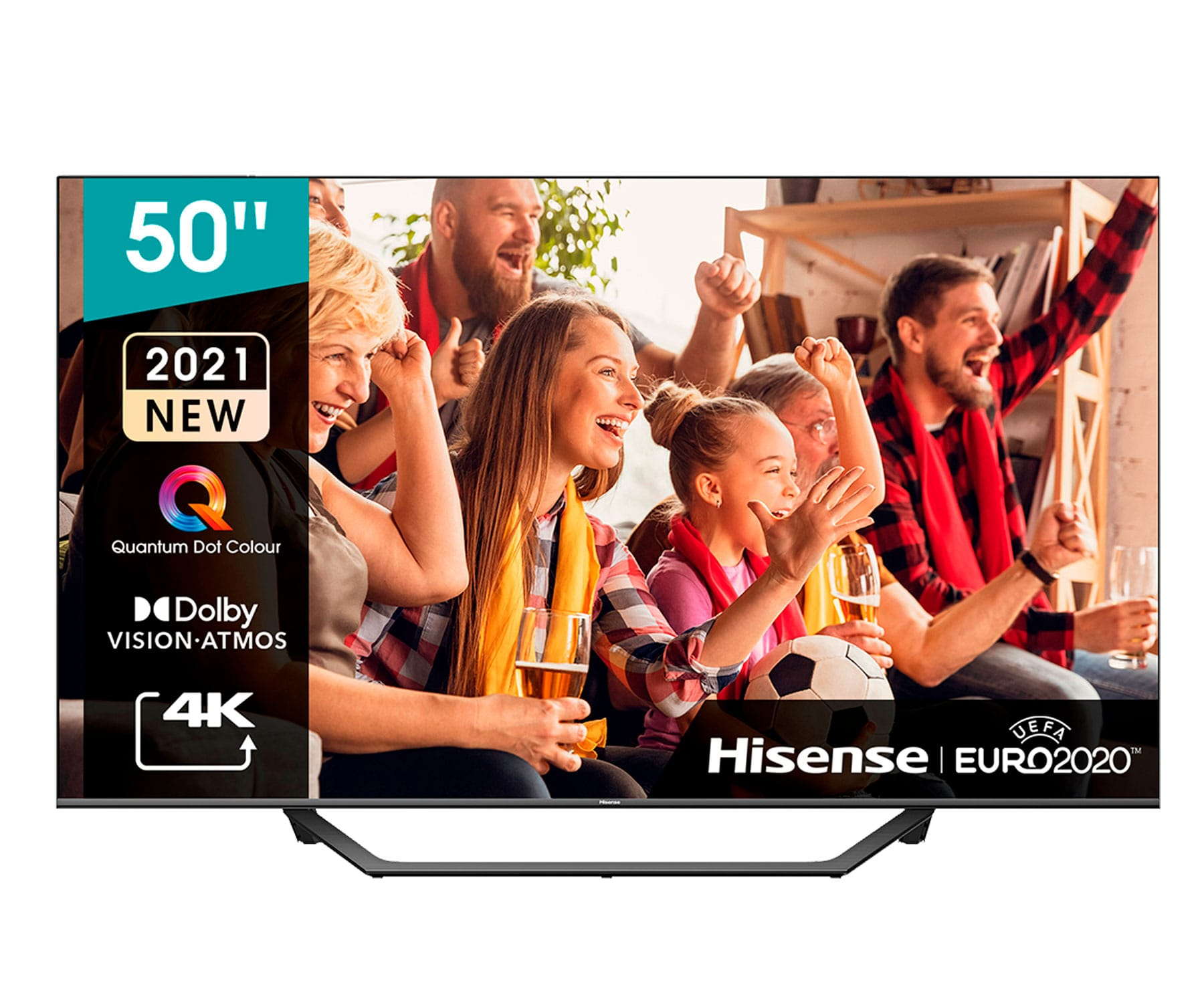 Hisense H50A7GQ TV 50''/4K UHD/Smart TV/HDR/WiFi/Bluetooth