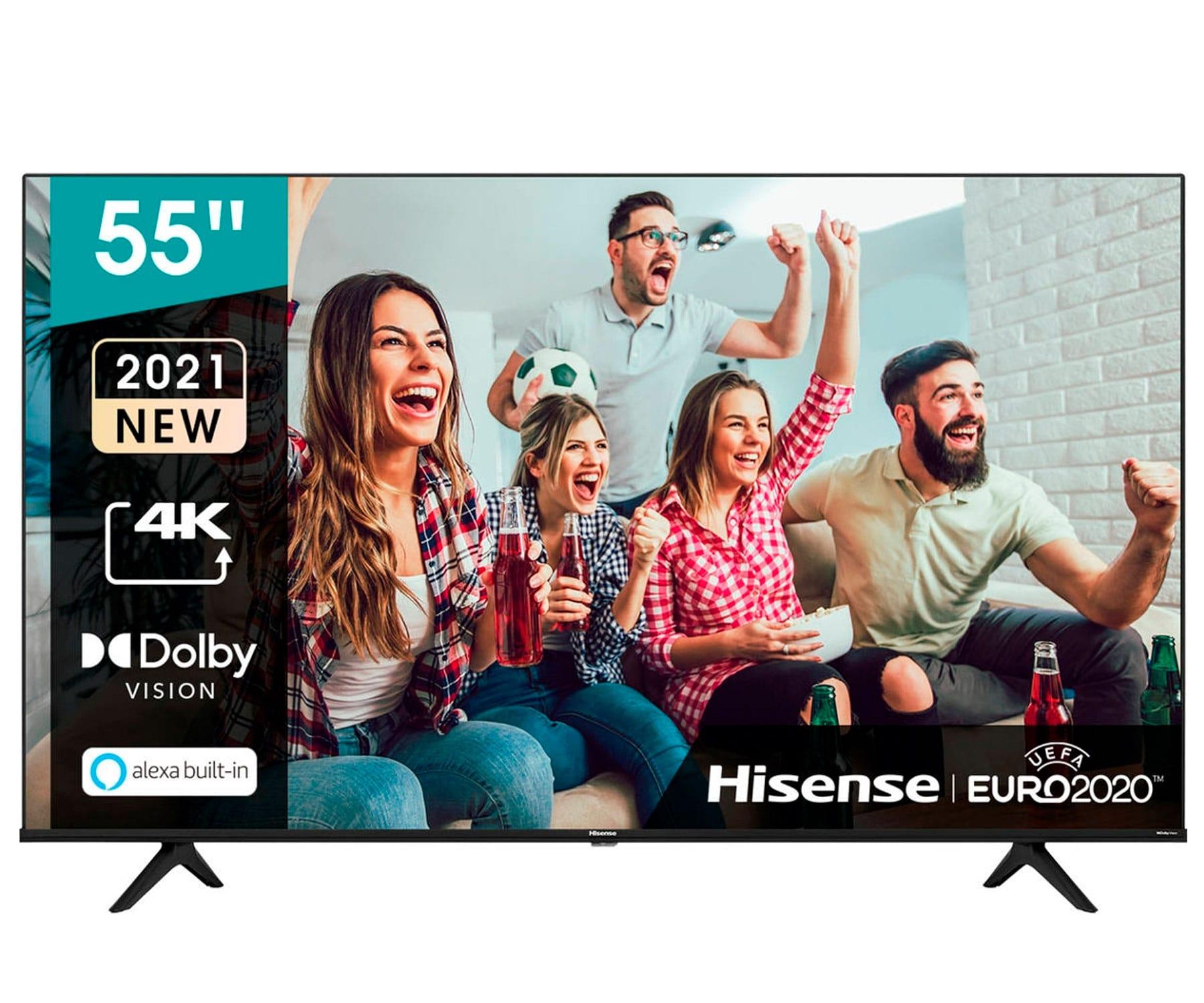 Hisense H55A6G TV 55''/4K UHD/Smart TV/HDR/WiFi/Bluetooth