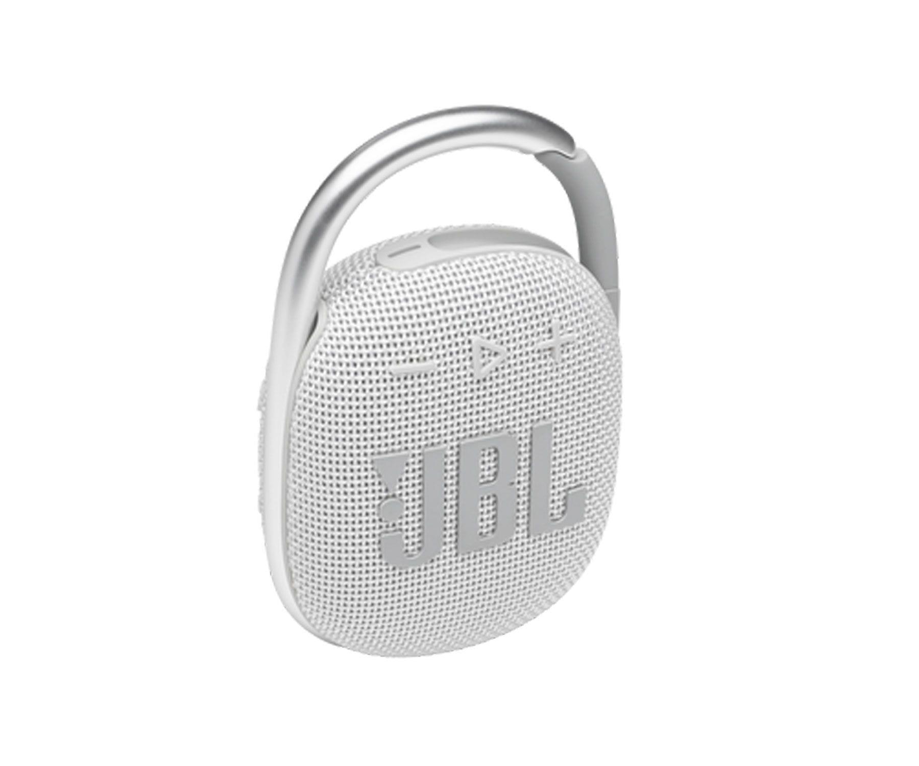 Jbl Altavoz Clip4 Blanco/Bluetooth 5.1/IP67/5W