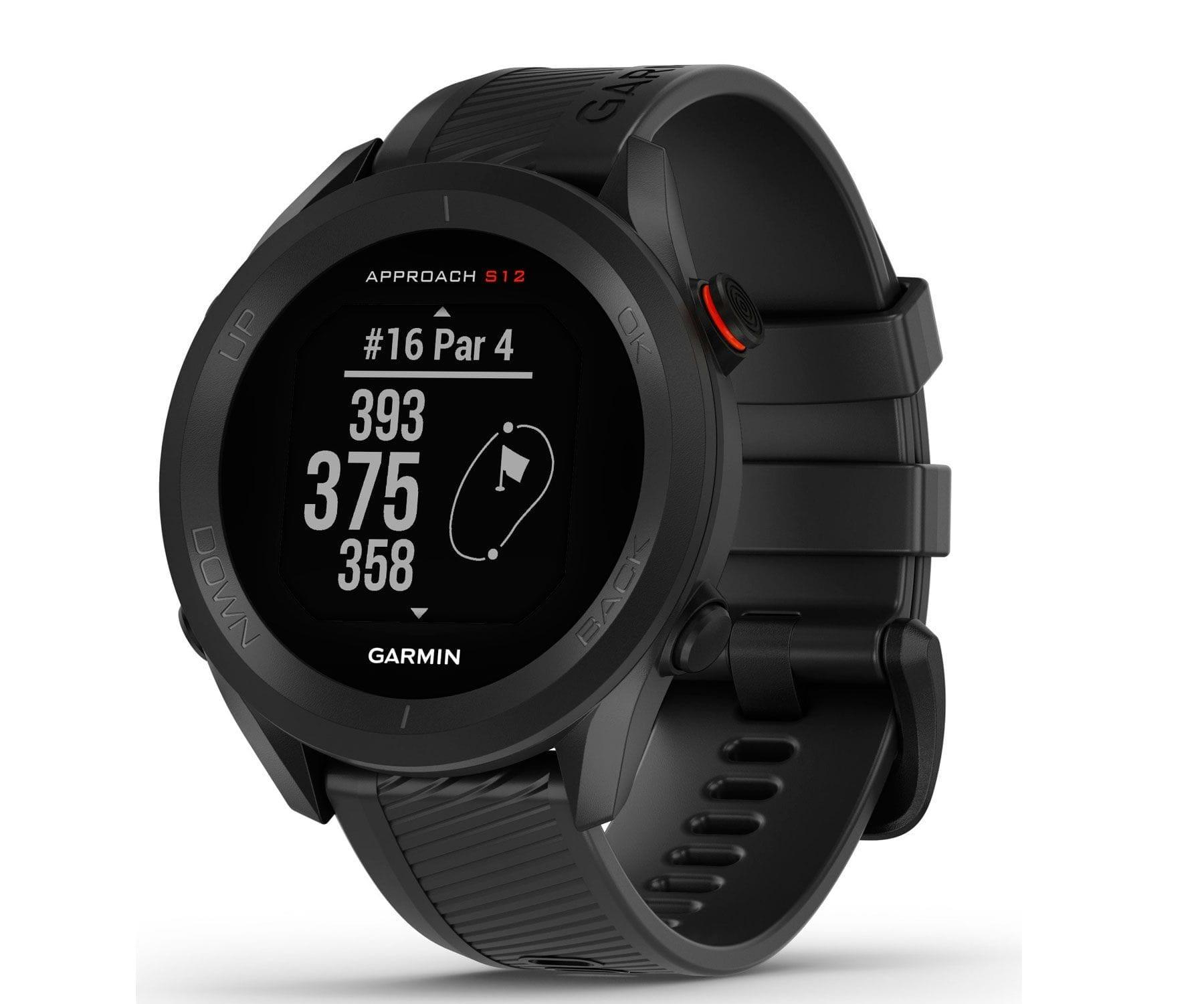 Garmin Approach S12 Negro Smartwatch Golf Negro GPS