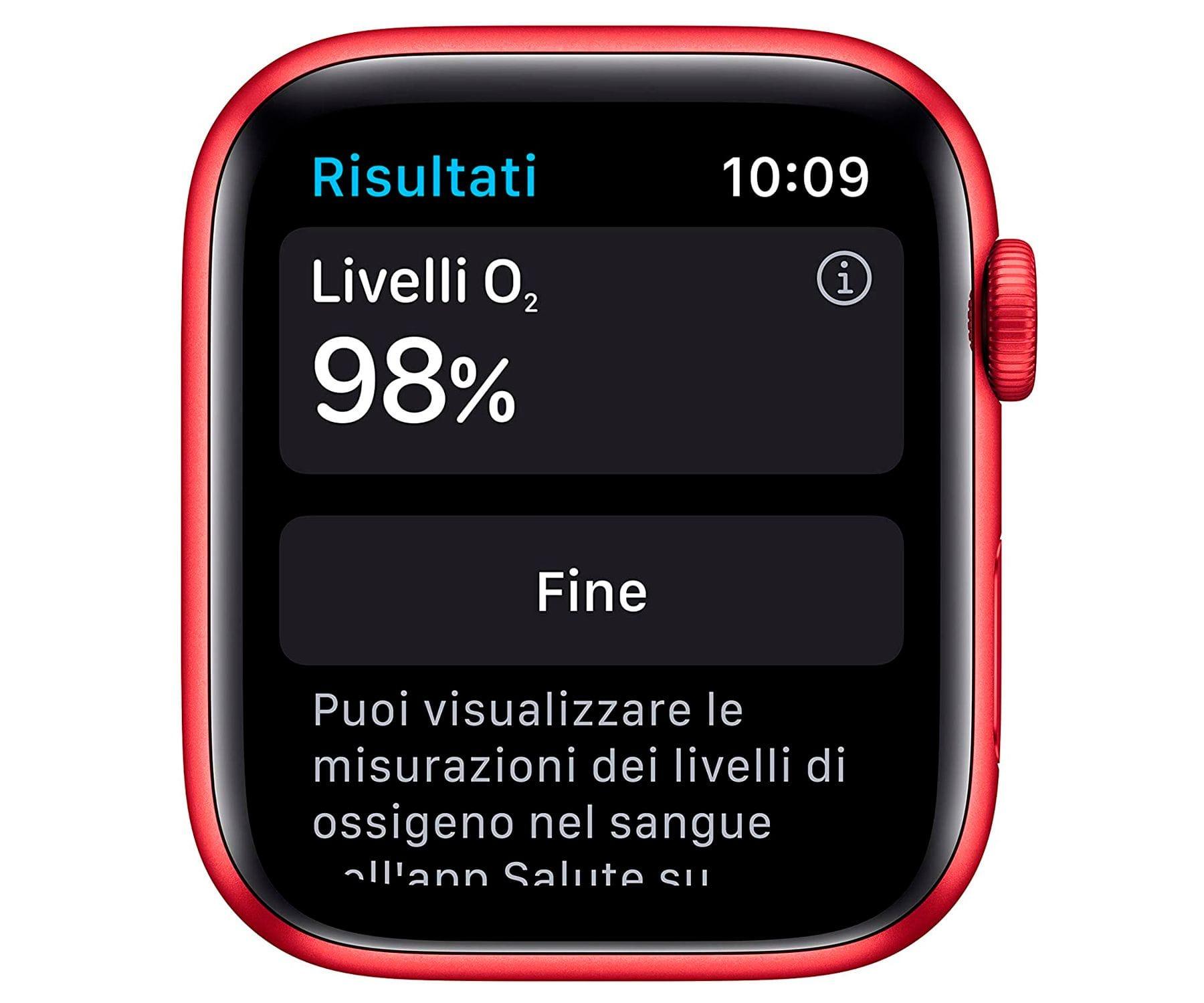Apple Watch Series 6 /gps/40mm/caja De Aluminio En Roja/correa Deportiva Roja/ap... (2)