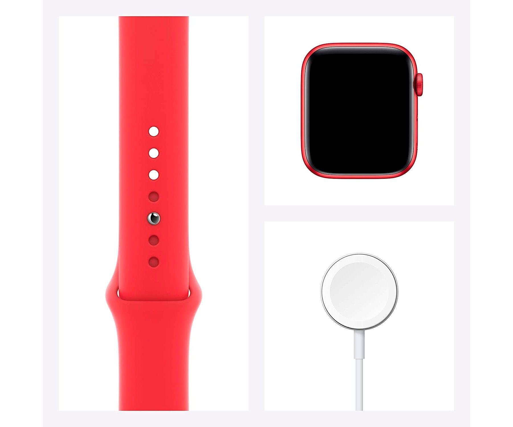 Apple Watch Series 6 /gps/40mm/caja De Aluminio En Roja/correa Deportiva Roja/ap... (5)