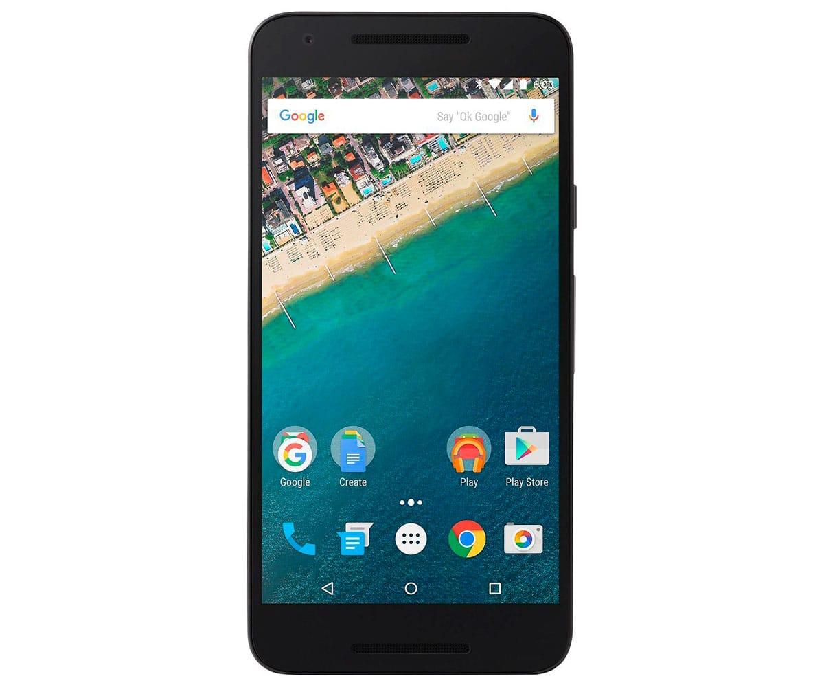 LG NEXUS 5X H791 TELÉFONO MÓVIL 4G 5.2''/HEXA-CORE/16GB/2GB RAM/12.3MP/5MP NEGRO