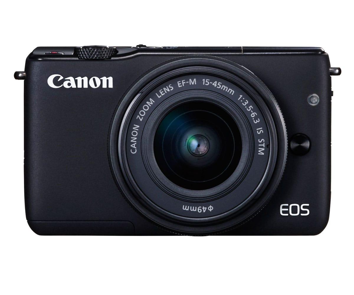 CANON EOS M10 CÁMARA CSC DE 18 MP CON OBJETIVO EF-M 15-45mm f/3.5-6.3 IS STM, WIFI Y NFC