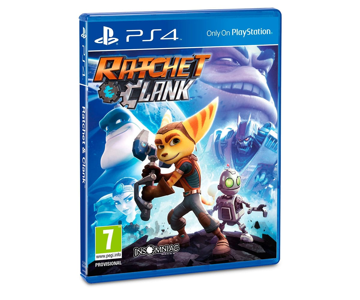 SONY VIDEOJUEGO RATCHET & CLANK PARA PLAYSTATION 4