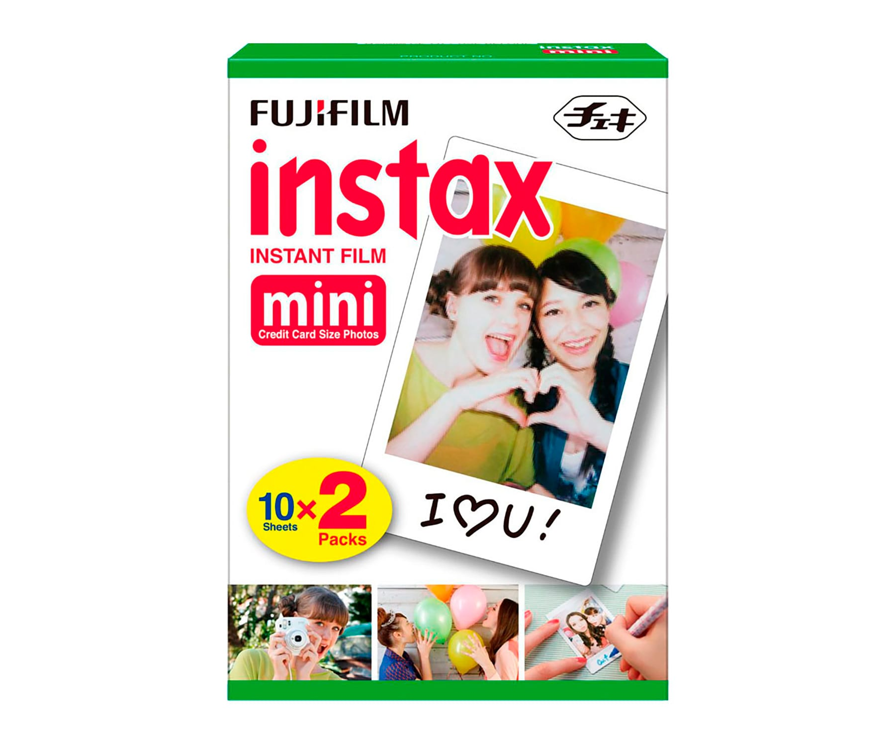 FUJIFILM INSTAX MINI 2X10/ PELICULA FOTOGRÁFICA INSTANTÁNEA