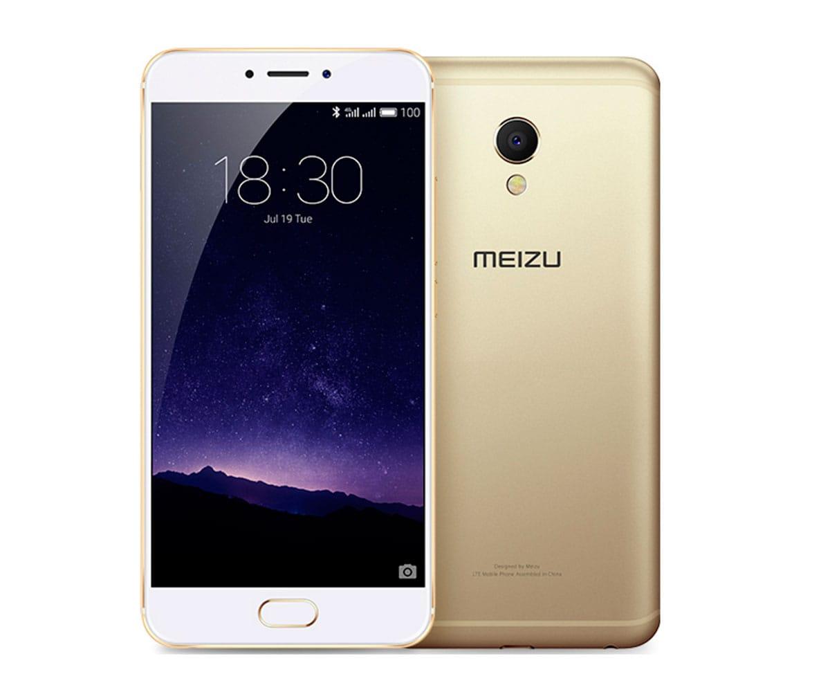MEIZU MX6 DORADO MÓVIL 4G DUAL SIM 5.5'' TDDI FHD/10CORE/32GB/3GB RAM/12MP/5MP