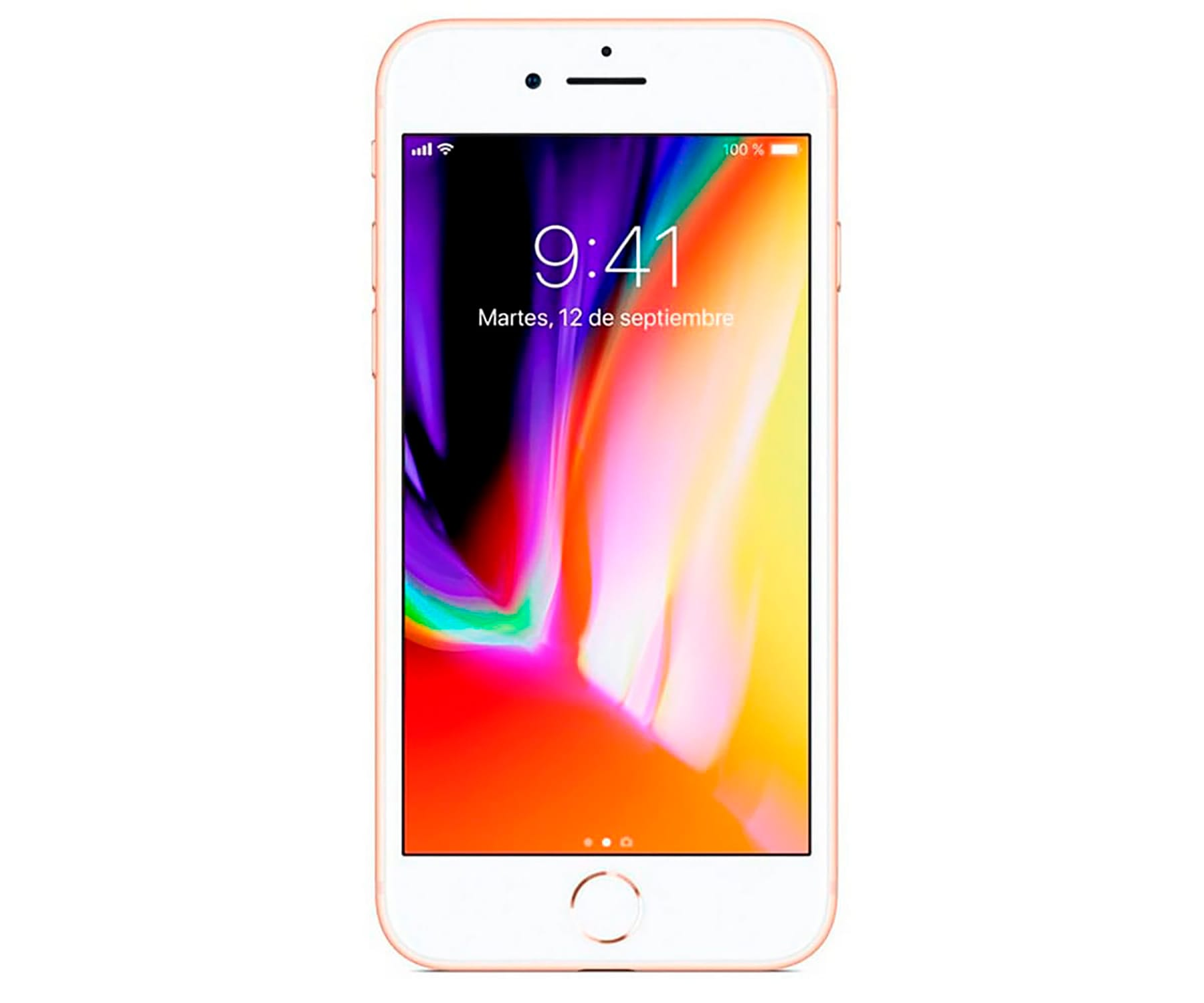 Apple Iphone 8 64gb Oro Reacondicionado Cpo Móvil 4g 4.7'' Retina Hd/6core/64gb/... (2)