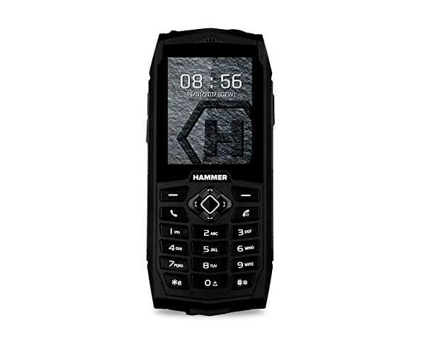 MYPHONE HAMMER 3 NEGRO MÓVIL RESISTENTE IP68 DUAL SIM 2.4'' TFT CÁMARA VGA BLUETOOTH RADIO FM