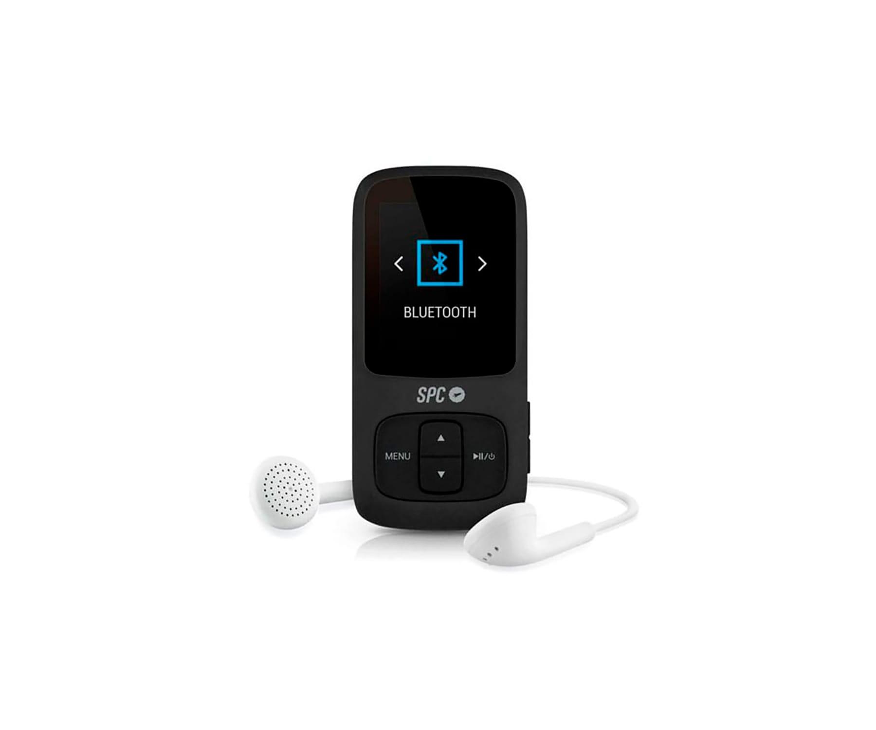 SPC BLUESOUND 8578 NEGRO REPRODUCTOR MP3 1.8'' CON BLUETOOTH 8GB