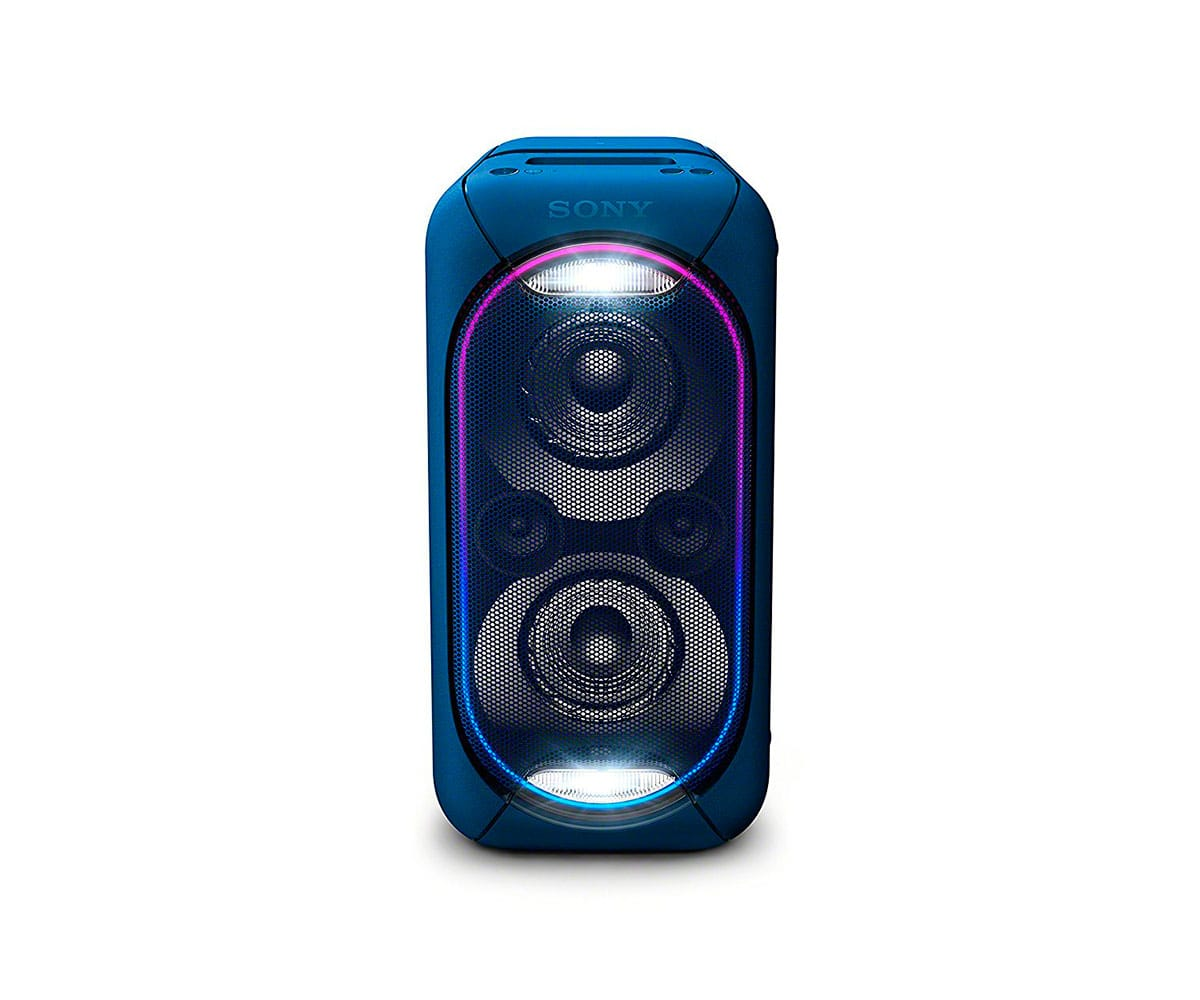 SONY GTK-XB60L AZUL SISTEMA DE AUDIO EN CASA PORTÁTIL DE GRAN POTENCIA CON LUCES LED, BLUETOOTH Y NFC