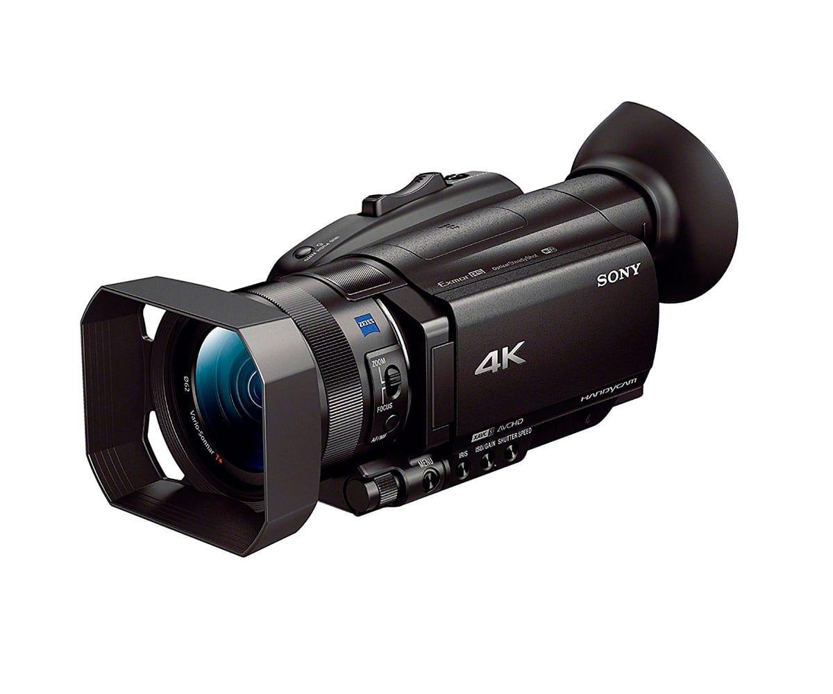 SONY FDR-AX700 VIDEOCÁMARA 4K HDR (HLG) LENTE GRAN ANGULAR ZEISS ENFOQUE AUTOMÁTICO 273 PUNTOS DE DETECCIÓN DE FASES CÁMARA SUPERLENTA
