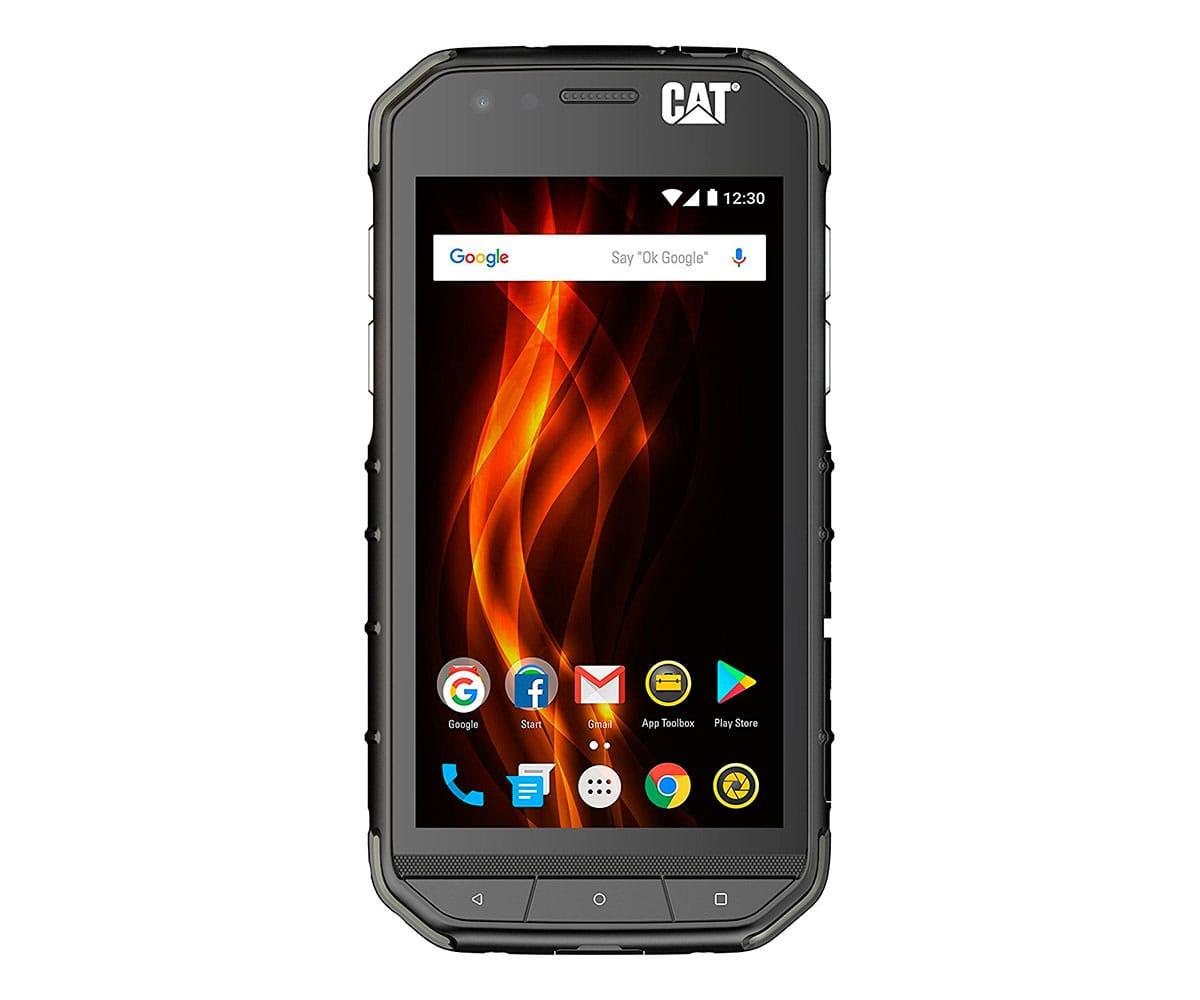 CAT S31 NEGRO MÓVIL RESISTENTE 4G DUAL SIM 4.7'' TFT/4CORE/16GB/2GB RAM/8MP/2MP
