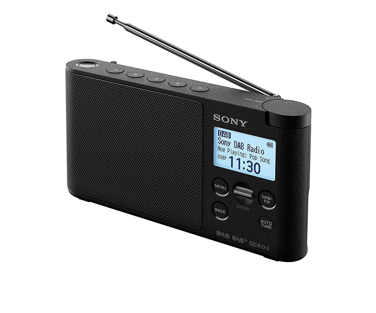 SONY XDR-S41D NEGRO RADIO DAB/DAB+ PORTÁTIL CON PANTALLA LCD PRESINTONÍAS DIRECTAS TEMPORIZADOR DE APAGADO