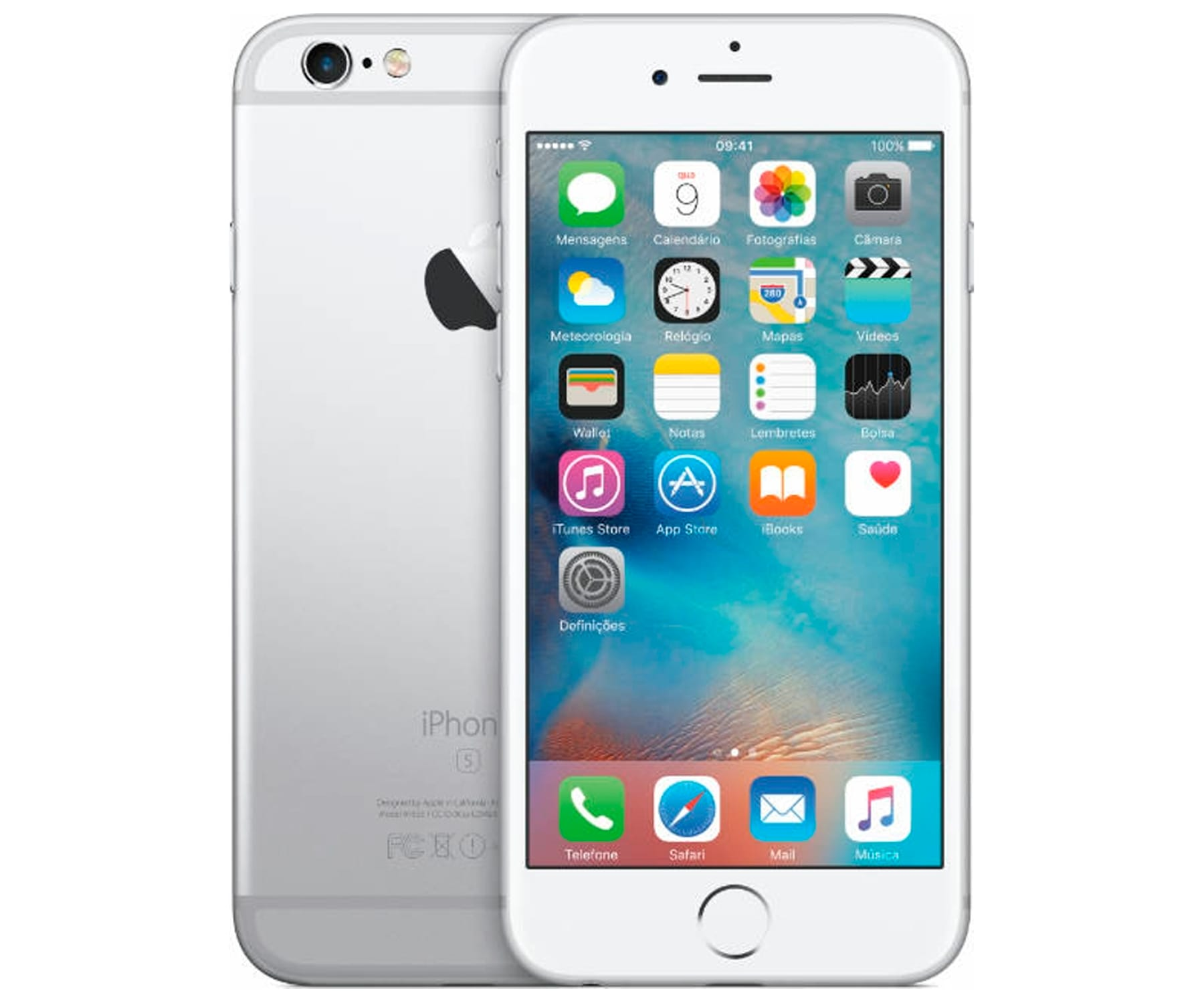 APPLE IPHONE 6S 64GB PLATA REACONDICIONADO CPO MÓVIL 4G 4.7'' RETINA HD/2CORE/64GB/2GB RAM/12MP/5MP