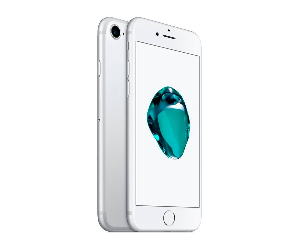 APPLE IPHONE 7 32GB PLATA REACONDICIONADO CPO MÓVIL 4G 4.7'' RETINA HD/4CORE/32GB/2GB RAM/12MP/7MP