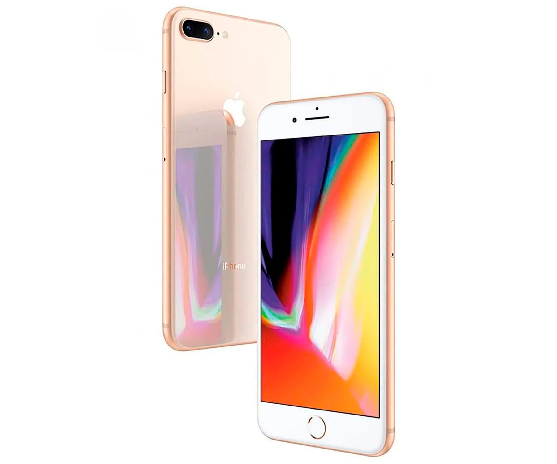 APPLE IPHONE 8 PLUS 64GB ORO REACONDICIONADO CPO MÓVIL 4G 5.5'' RETINA FHD/6CORE/64GB/3GB RAM/12MP+12MP/7MP