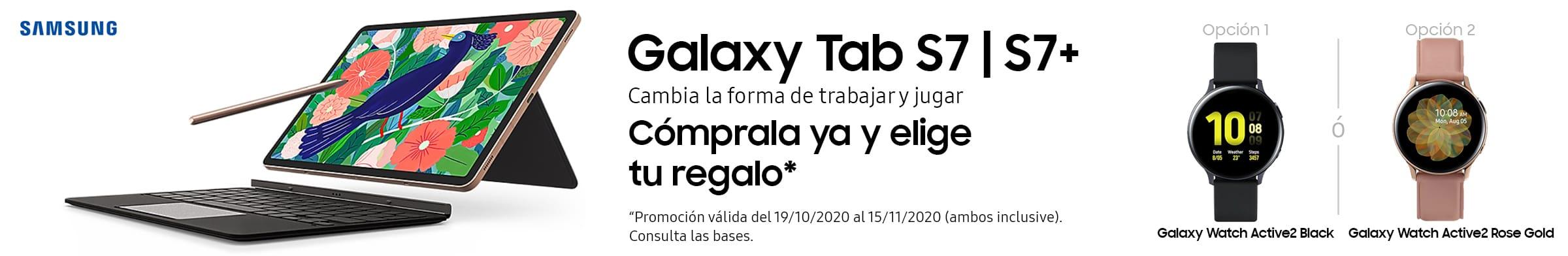 Compra una Samsung Galaxy Tab S7+ y elige tu regalo