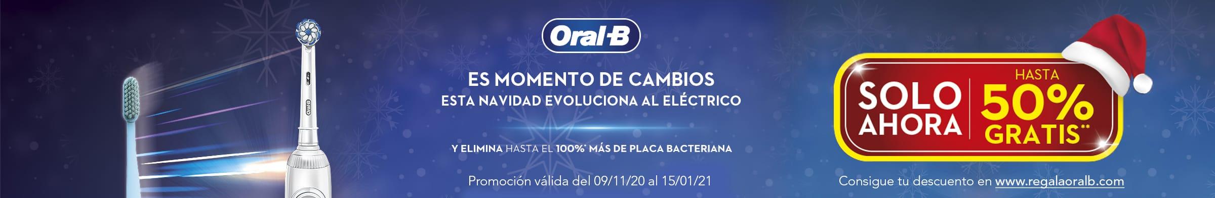 ORAL B: Esta Navidad evoluciona al eléctrico