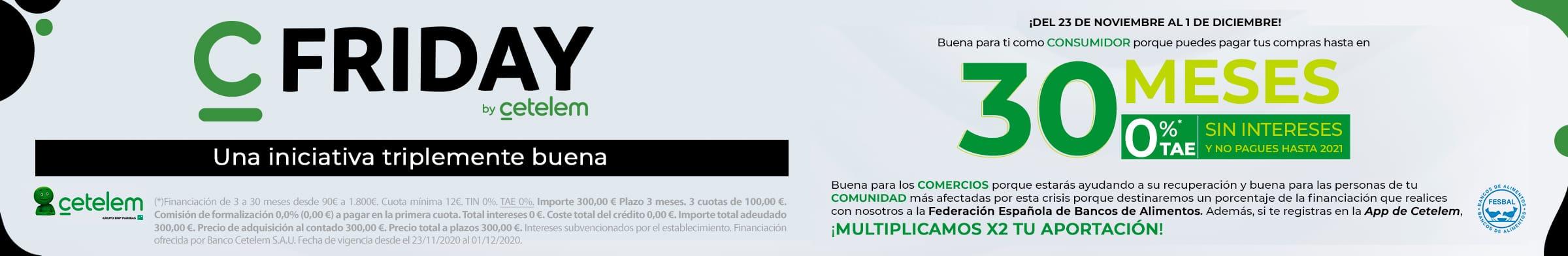 CETELEM: Financia tus compras hasta en 30 Meses sin intereses