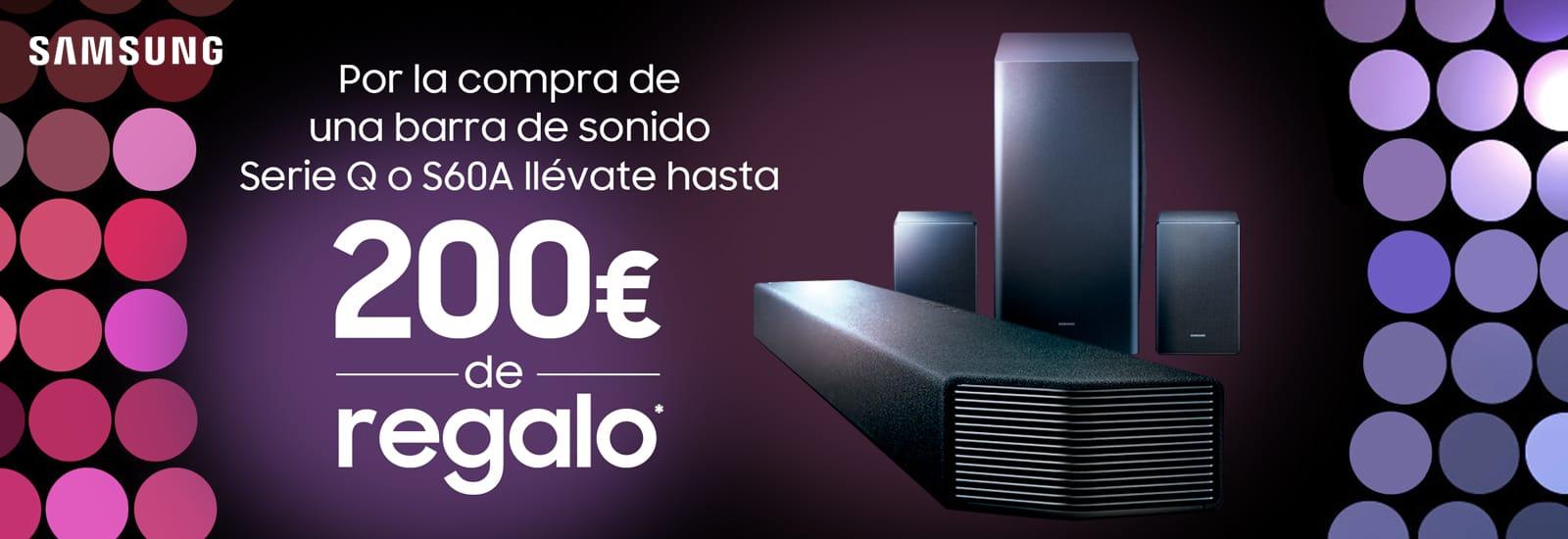 Hasta 200€ de Regalo con Samsung