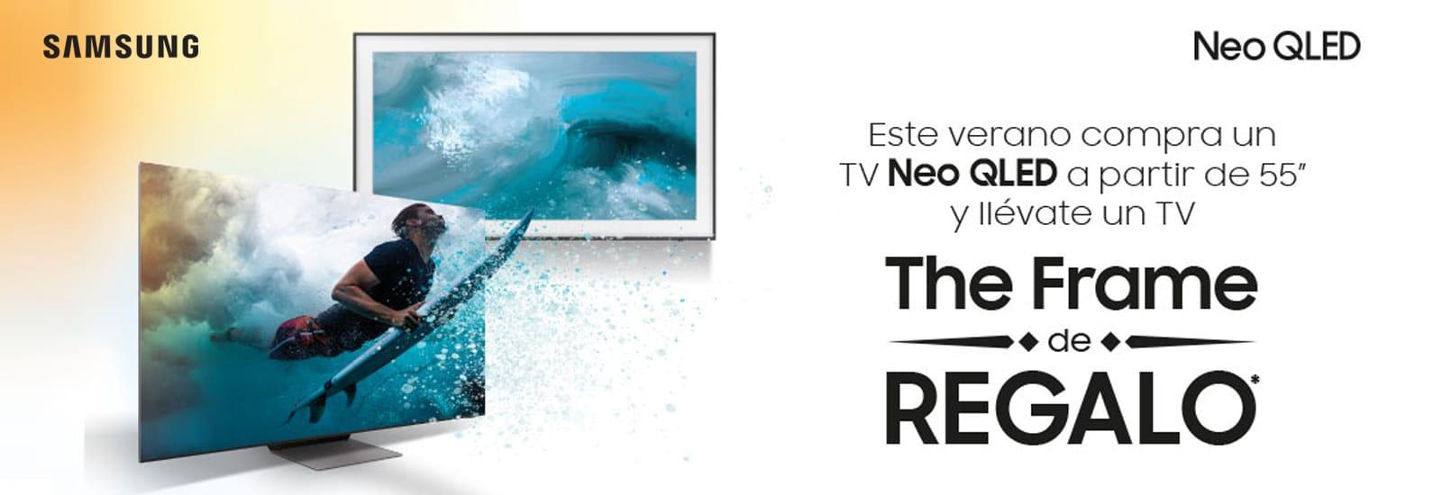 Compra un TV Neo QLED y llévate un The Frame
